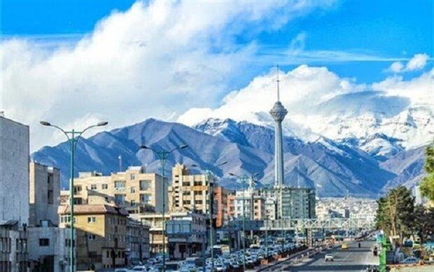 هوای تهران سالم اما غبارآلود است