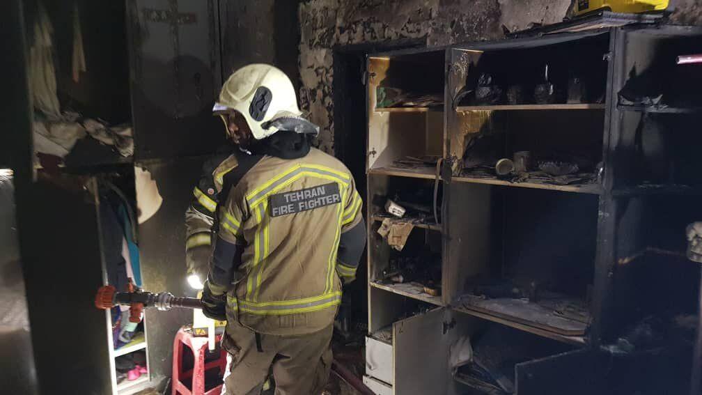 جزئیات آتشسوزی در شهرک صنعتی غرب تهران