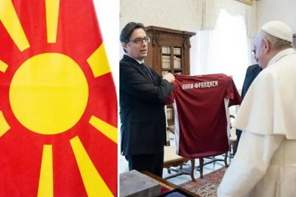 عذرخواهی فدراسیون فوتبال مقدونیه بابت زشت بودن پیراهن تیم ملی