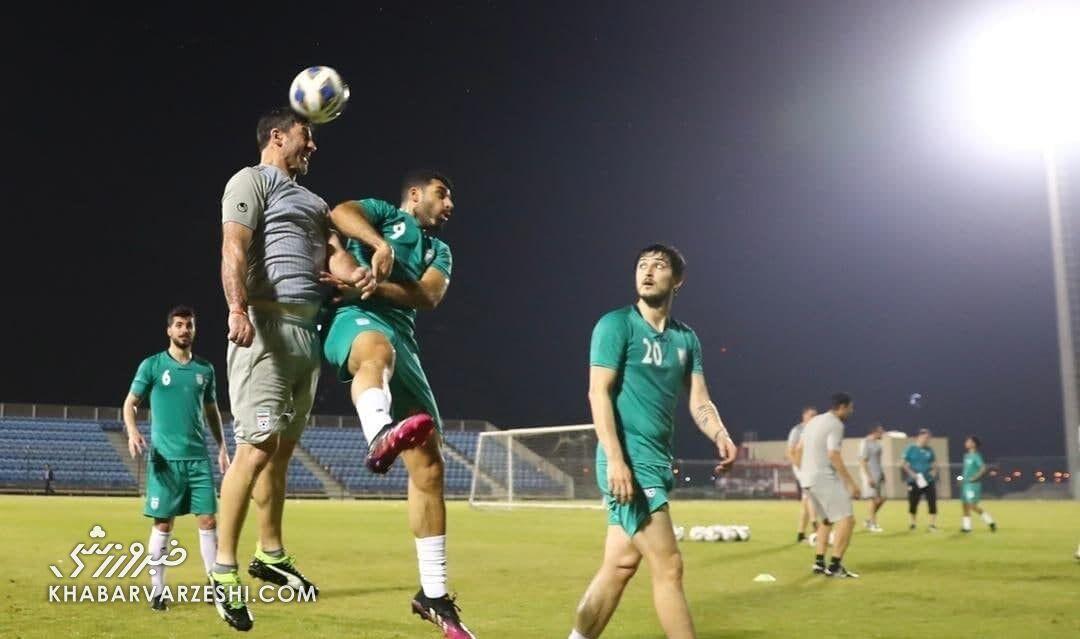 آماده ترین بازیکن تیم ملی ایران در بحرین به روایت تصویر