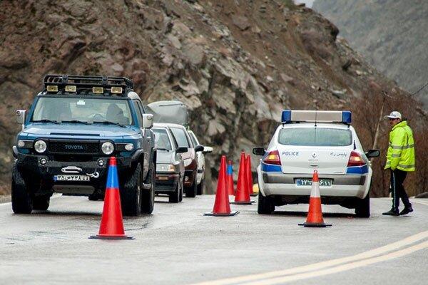 ممنوعیت تردد در جادههای مازندران؛ جریمه ۲۲۳۰ خودرو