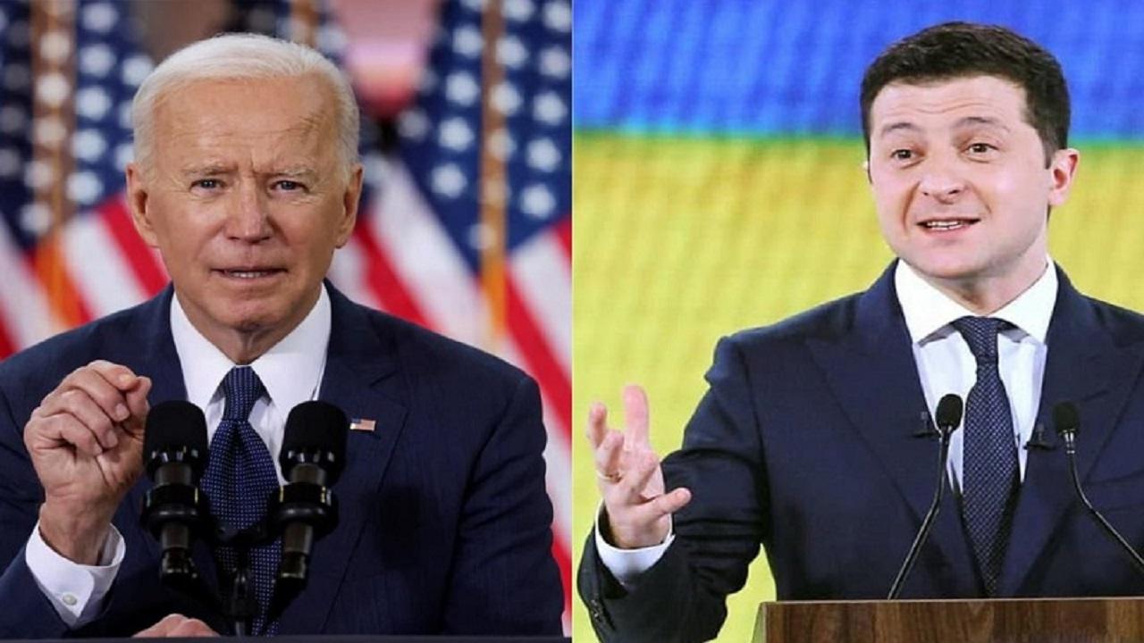 اعلام آمادگی رئیسجمهور اوکراین برای دیدار با بایدن