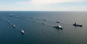 برگزاری رزمایش دریایی ناتو در بالتیک با مشارکت 40 رزمناو