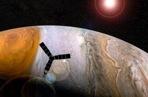 ناسا پس از دو دهه به نزدیکترین فاصله از بزرگترین قمر سیاره مشتری میرسد