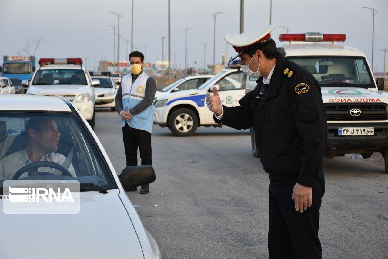 جریمه بیش ۳۰۰۰ دستگاه خودرو طی تعطیلات خرداد در اصفهان