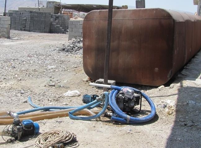 ۳۰ هزار لیتر گازوئیل قاچاق در لارستان