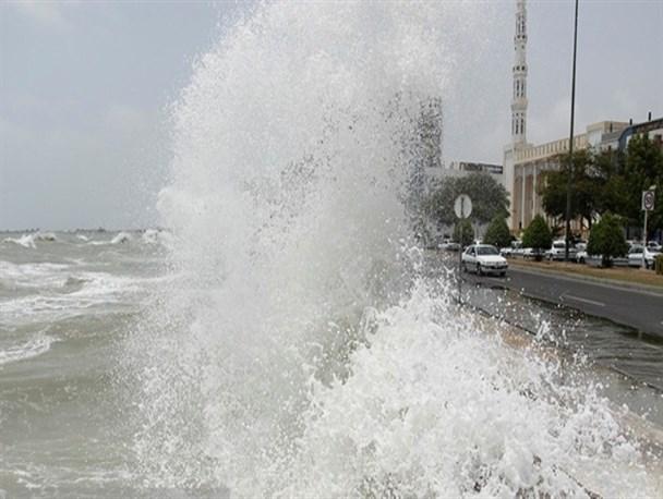 وزش باد نسبتاً شدید در هرمزگان