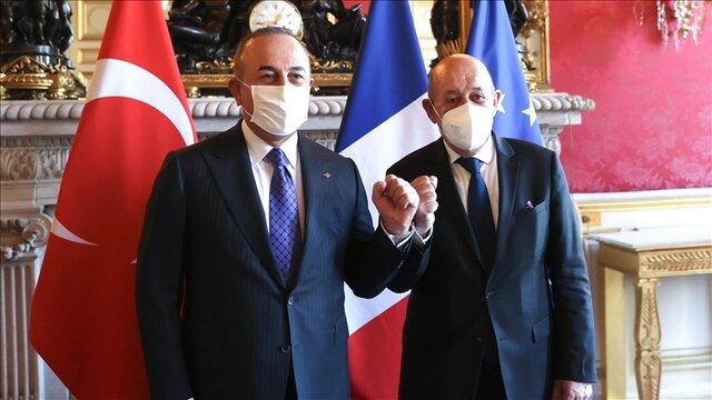 ترکیه: هدف ما تقویت روابط با فرانسه بر اساس احترام متقابل است