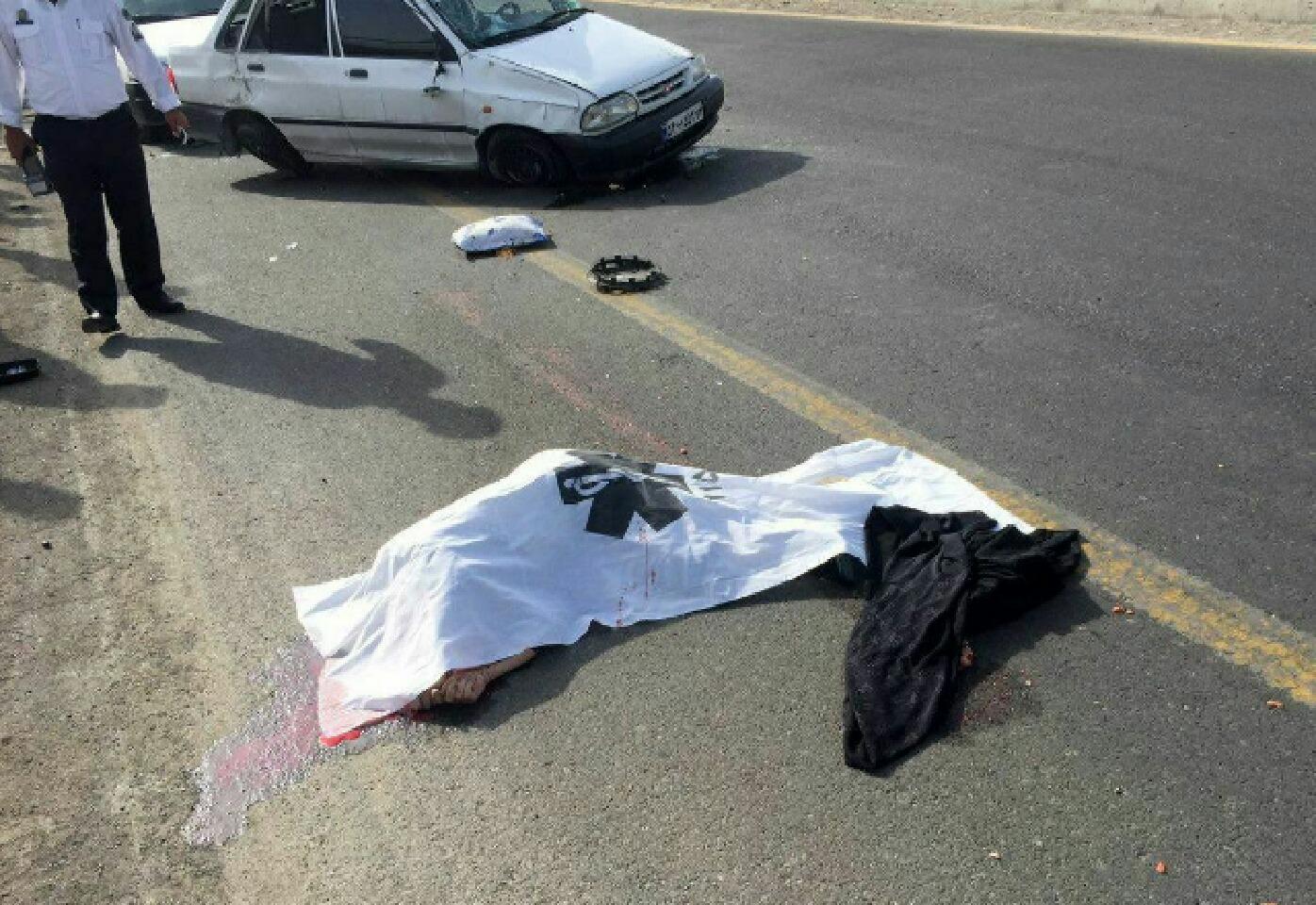 جانباختن دختربچه ۵ ساله در سبزوار بر اثر برخورد با خودرو