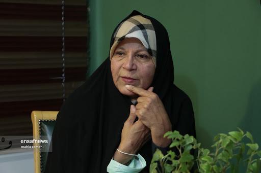 فائزه هاشمی: نظر جبهه اصلاحات آیه قرآن نیست که تغییر نکند