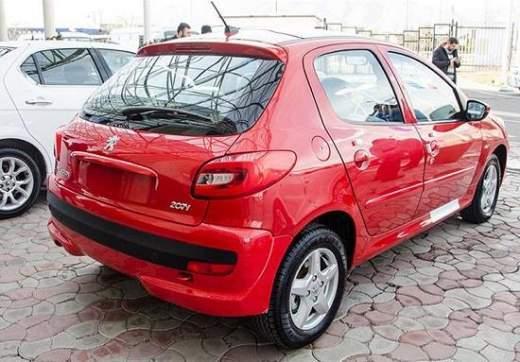 اعلام مشخصات خودروی پژو 207 دو رنگ