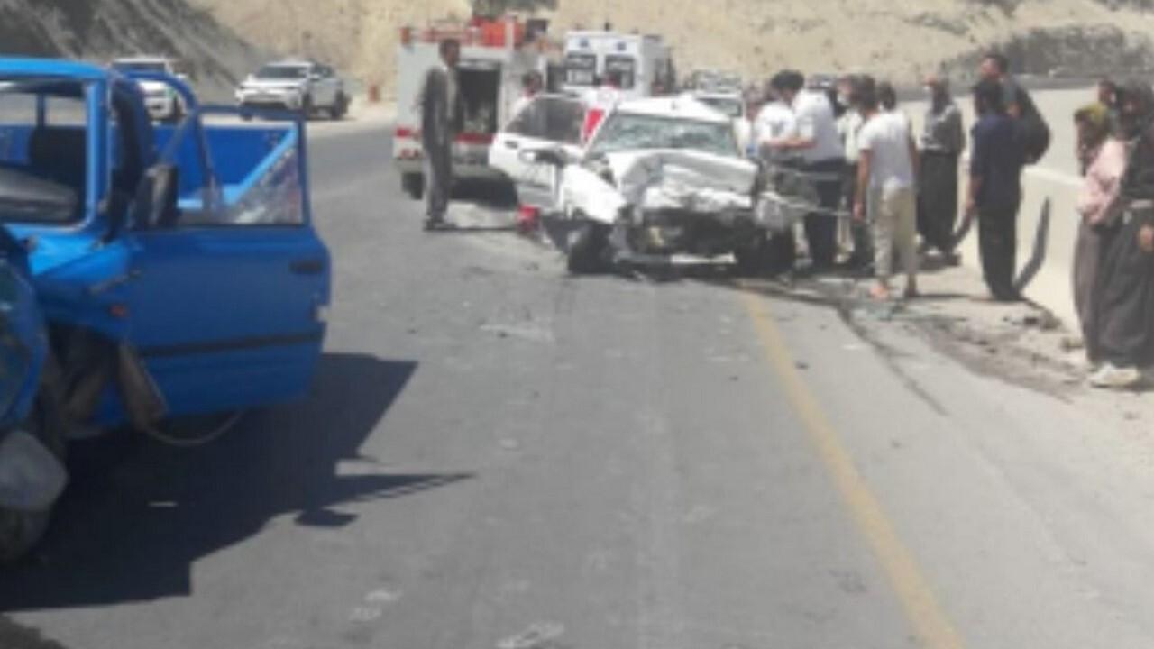 وقوع ۲ حادثه رانندگی در ایلام ۲ راننده خودرو را به کام مرگ کشاند