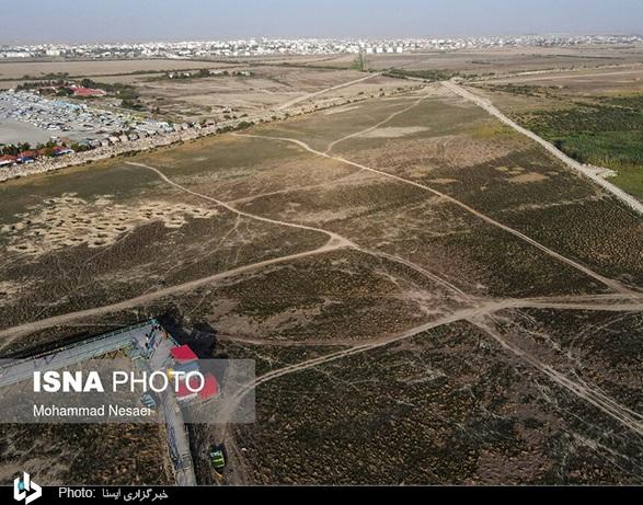 عکس/ خلیج «گرگان» در معرض نابودی