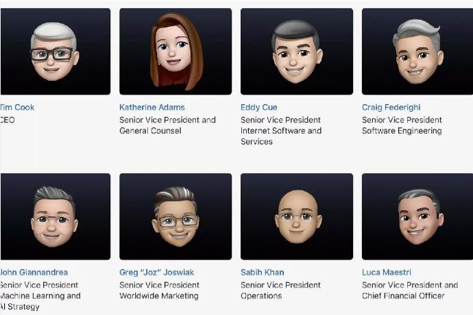 تصویر پروفایل مدیران اپل در آستانهی WWDC 2021 به میموجی تبدیل شد