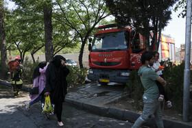 باغ فرزانه شیراز باز هم آتش گرفت