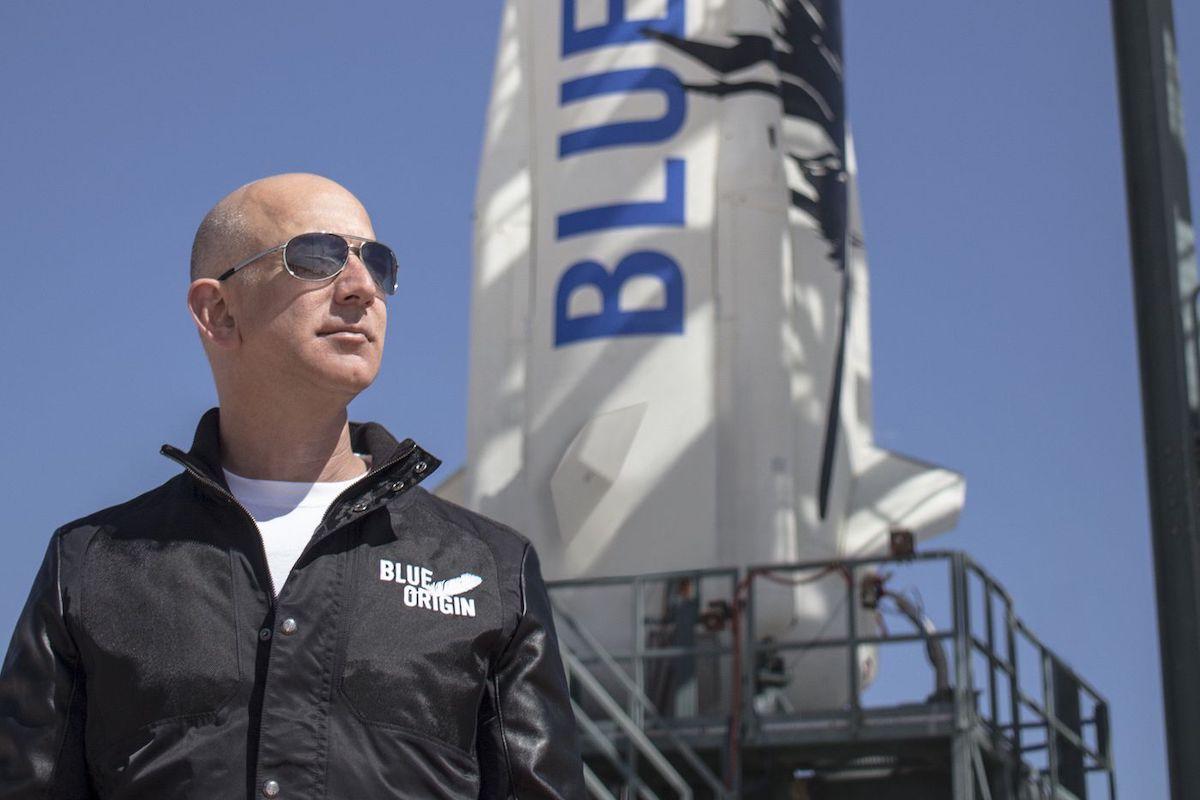 جف بزوس اواخر ماه آینده با موشک «نیو شپرد» بلو اوریجین راهی فضا میشود