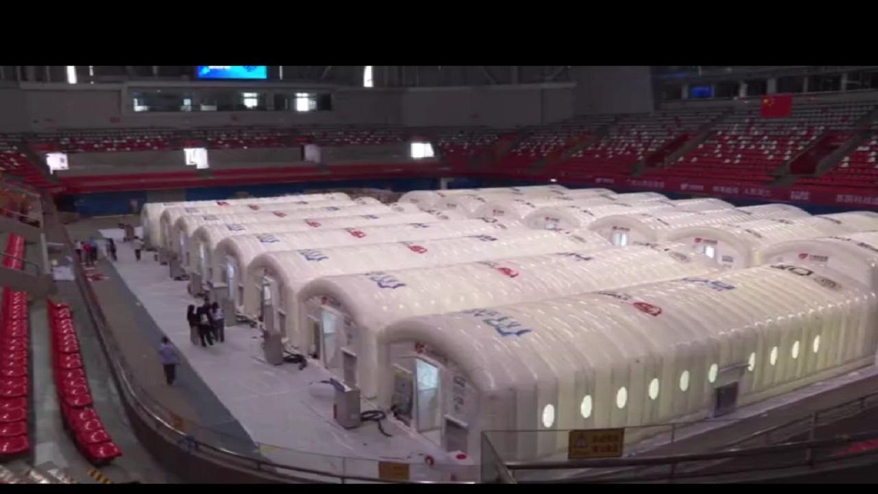 افتتاح آزمایشگاه تست کرونا با ظرفیت روزانه ۱۵۰ هزار نفر در چین