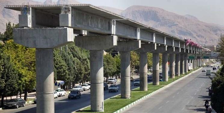 پروژه قطار شهری کرمانشاه با قدرت درحال اجرا است