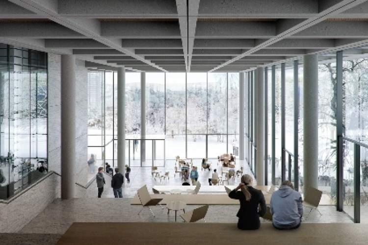 طراحی کتابخانه مرکزی دانشگاه گوتنبرگ با الهام از کتاب باز