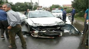 سانحه رانندگی در شاندرمن ماسال ۵ مصدوم برجای گذاشت