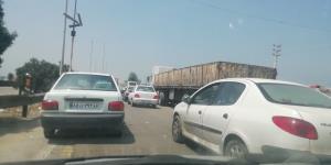 ترافیک در خروجیهای مشهد پرحجم است
