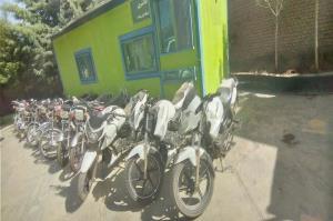 شبکه حرفهای سرقت موتورسیکلت در بوکان متلاشی شد