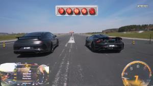 مسابقه درگ مکلارن ۷۶۵LT و مرسدس-ایامجی GT63 S