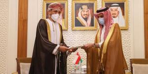 پیام مکتوب سلطان عمان به ملکسلمان