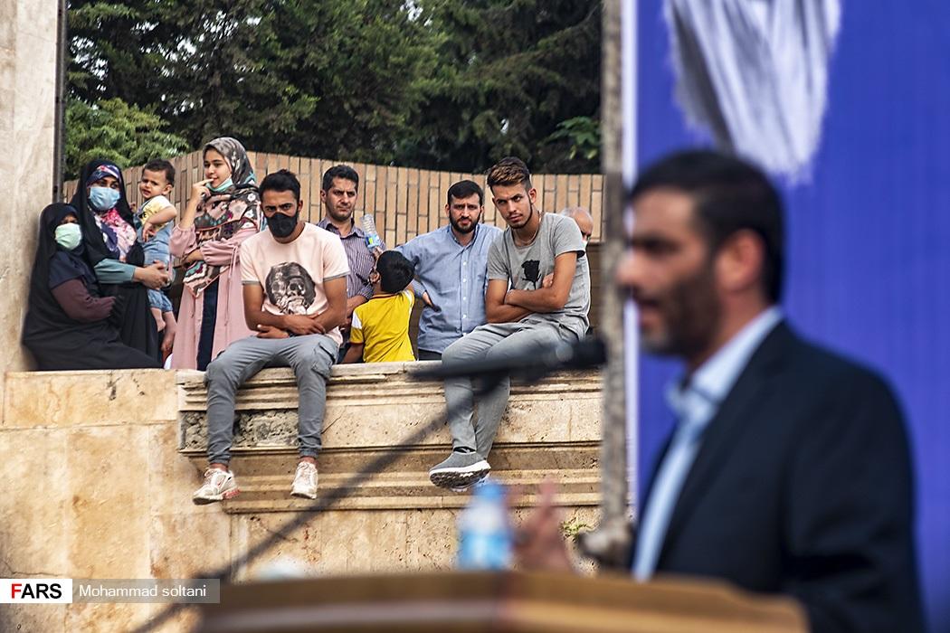 اجتماع بزرگ حامیان آیتالله رئیسی در مازندران با حضور سعید محمد