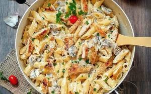 ص�ر تا صد تهیه پاستا پنه آل�ردو