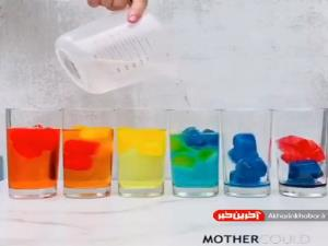 بازی خلاقانه ترکیب رنگ ها برای کودکان