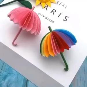 کاردستی چتر برای سرگرمی کودکان در روزهای تعطیل