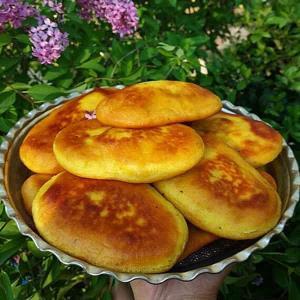 طرز تهیه نان زیره تابه ای خوشمزه به روش سنتی
