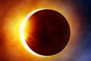 نخستین خورشیدگرفتگی سال ۲۰۲۱