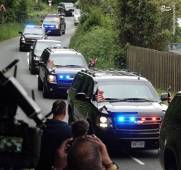 عکس/ تدابیر امنیتی نشست سران G7 در انگلیس