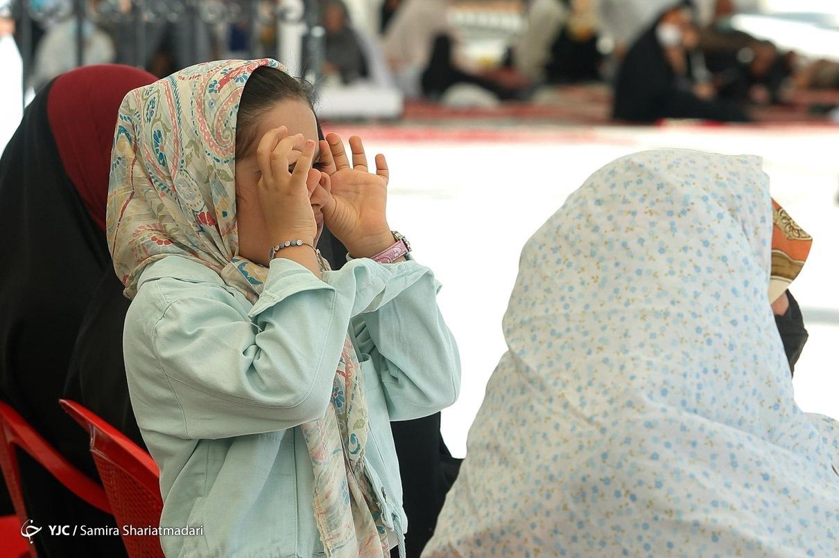جشن روز دختر در امام زاده صالح (ع) تجریش