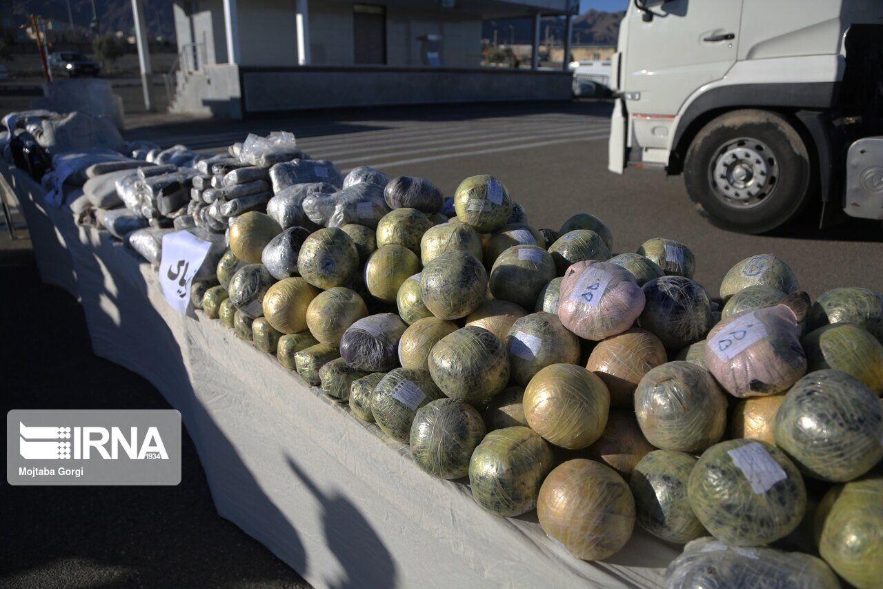 ۸۲۶ کیلوگرم مواد مخدر در سیستانوبلوچستان کشف شد