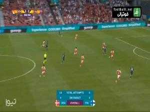 گل اول فنلاند به دانمارک