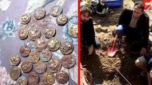 کشف گنج طلایی زیر ستونهای یک خانه در کردستان