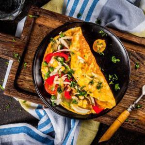 املت مکزیکی، هم صبحانه هم عصرانه