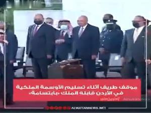 بی اعتنایی رئیس اسبق اطلاعات اردن به پادشاه هنگام دریافت نشان لیاقت!
