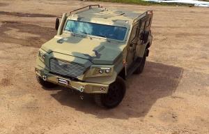 خودروی نظامی روسیه برای فروش به کشورهای آفریقایی - استرلا با 4.9 تن وزن