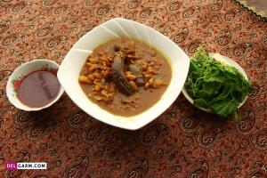 طرز تهیه قلیه بادمجان غذای محلی استان گیلان