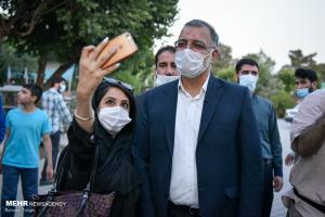 توئیت زاکانی خطاب به دختران ایران