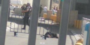 تیراندازی نظامیان صهیونیست به زن فلسطینی در شمال قدس