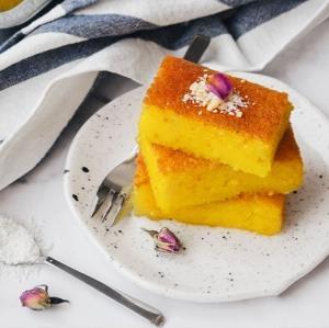 «کیک باقلوا» زع�رانی برای روز عید بدون نیاز به �ر