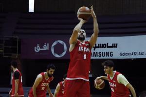 تیم ملی بسکتبال ایران مقابل قطر به پیروزی رسید