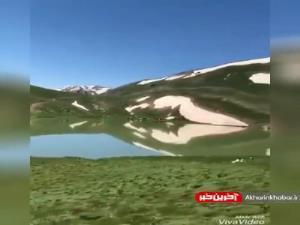 کوهستان بکر و زیباى دالامپر در اشنویه