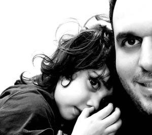 چهرهها/ عاشقانه محمد حسین مهدویان و دخترش