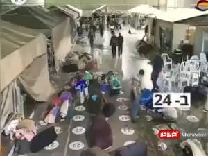 ویدئو تکاندهنده از حمله زندانبانان صهیونیست به اسرای فلسطینی